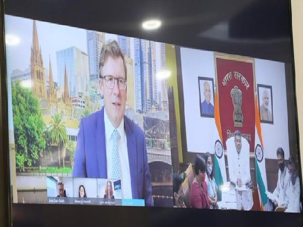 The Indian minister said that the education and skill spectrum has significant potential for further cooperation between New Delhi and Canberra.