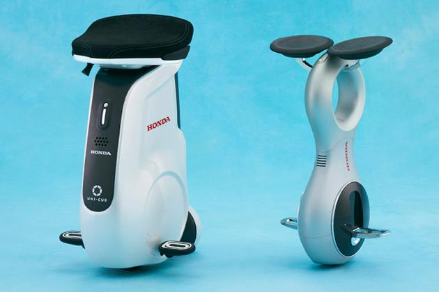 Honda Motor Company unveiled its new UNI-CUB personal mobility device