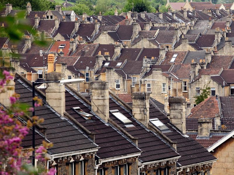 Figures from Nationwide show that house price growth went up 0.1 per cent in November: Getty