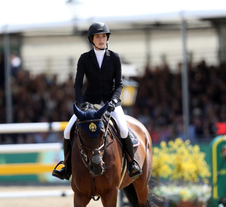 Jessica Springsteen competing at the Royal Windsor Horse Show (Steve Parsons/PA) (PA Archive)