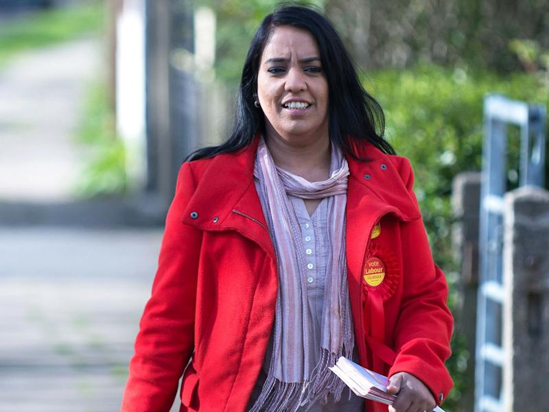 Naz Shah said Sarah Champion was 'irresponsible', arguing 90 per cent of child abusers are white men: Rex Features