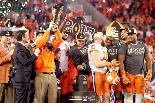 <p><strong>49. Clemson</strong><br> Trajectory: Steady. Winning a national title in football only gets you so far, especially when your school scores a big fat zero in winter sports. Finished 17 spots behind Denver University, which doesn't even play football, this year. </p>