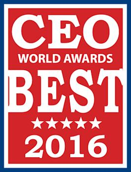 ioFABRIC CEO Steven Lamb Honored in the Annual 2016 CEO World Awards(R) as Gold Winner, Most Innovative CEO, Software