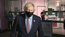 'This is a great thing to do': Boris Johnson receives AstraZeneca vaccine