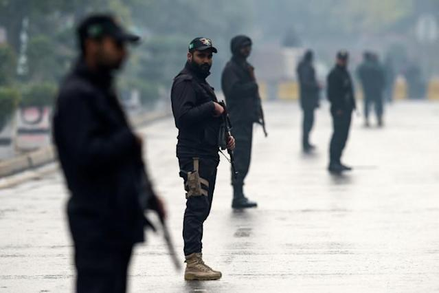 Heavy security as Pakistan host first cricket Test since