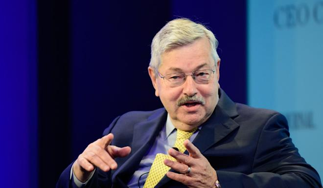 China summoned US ambassador to Beijing Terry Branstad to protest about the proposed legislation. Photo: Bloomberg