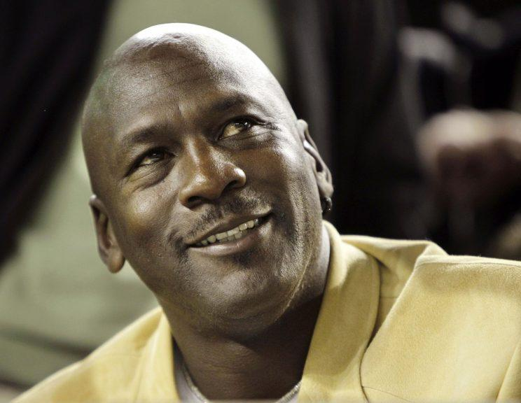 Michael Jordan has teamed up with Derek Jeter for the Marlins. (AP Photo)