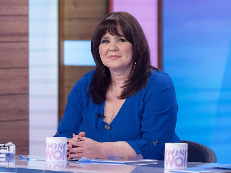 Coleen Nolan on Loose Women, 20 January 2020: Ken McKay/ITV/Shutterstock