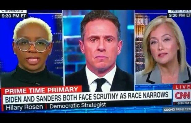 Democratic Strategist Hilary Rosen Apologizes to Sanders Spokesperson Nina Turner After CNN Scuffle