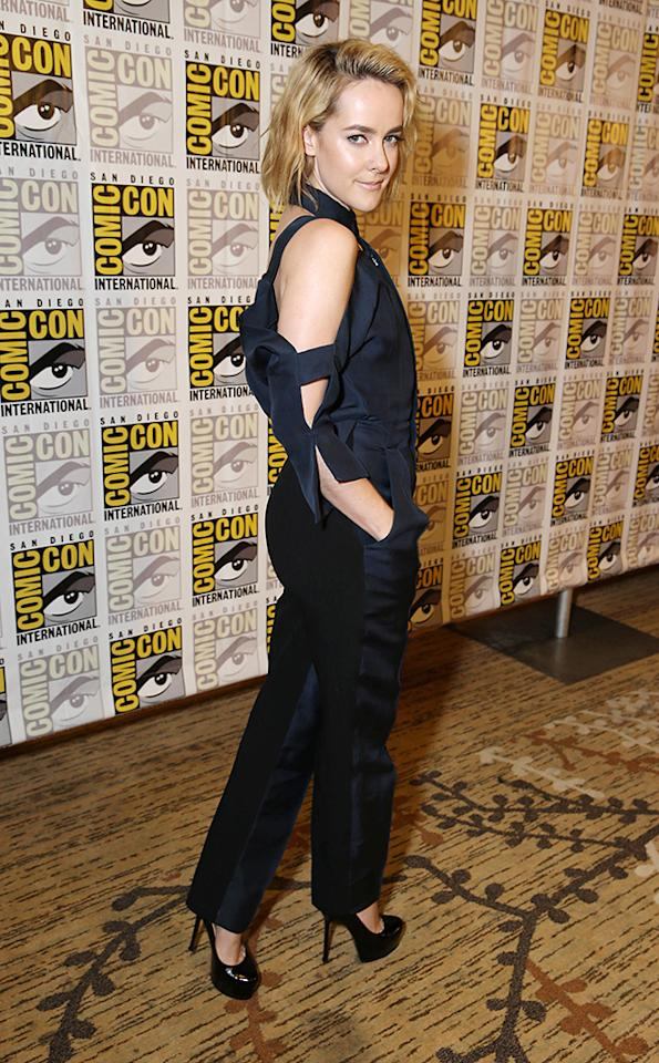 Jena Malone seen at Lionsgate Presentation at 2013 Comic-Con, on Saturday, July, 20, 2013 in San Diego, Calif. (Photo by Eric Charbonneau/Invision for Lionsgate/AP Images)