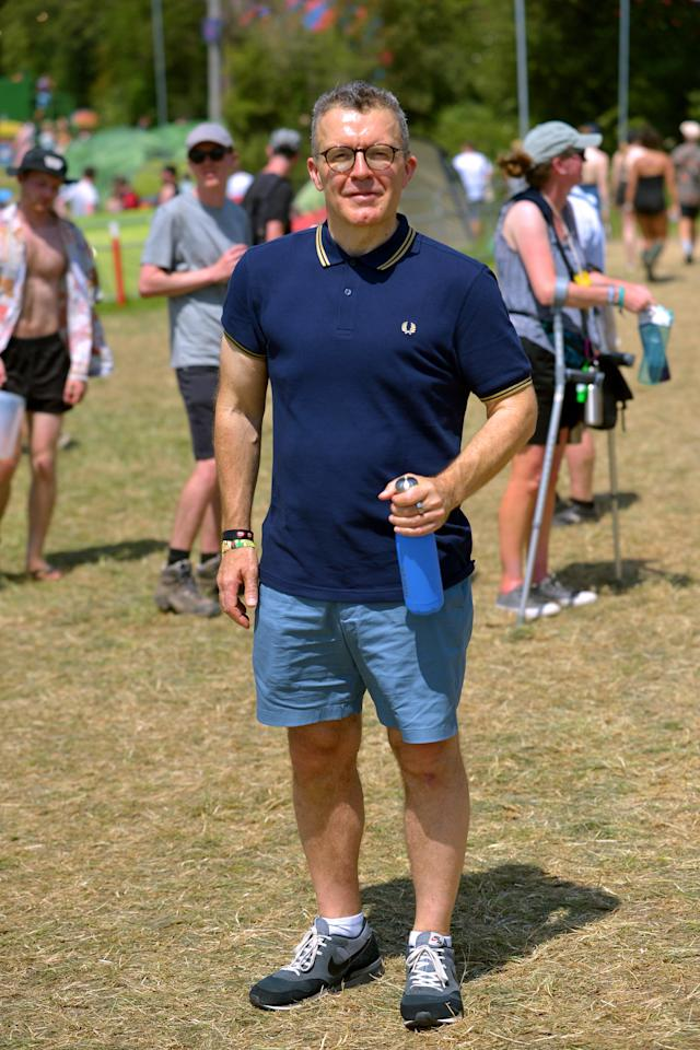 Tom Watson pictured at Glastonbury Festival in June 2019. [Photo: Getty]
