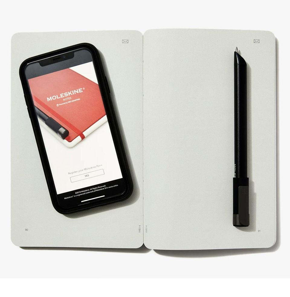 """<p><strong>Moleskine</strong></p><p>bespokepost.com</p><p><strong>$159.00</strong></p><p><a href=""""https://go.redirectingat.com?id=74968X1596630&url=https%3A%2F%2Fwww.bespokepost.com%2Fstore%2Fmoleskine-smart-note-set&sref=https%3A%2F%2Fwww.esquire.com%2Flifestyle%2Fg36186166%2Fanniversary-gifts-for-him-husband%2F"""" rel=""""nofollow noopener"""" target=""""_blank"""" data-ylk=""""slk:Buy"""" class=""""link rapid-noclick-resp"""">Buy</a></p><p>Want a more modern interpretation on paper? Try Moleskine's writing set, which transfers handwriting into digital files.</p>"""