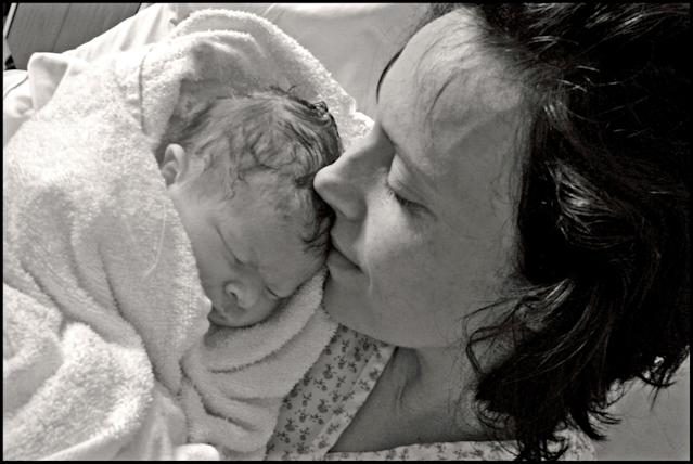 Rhiannon Davies' daughter Kate died shortly after she was born in 2009. [Photo: PA]