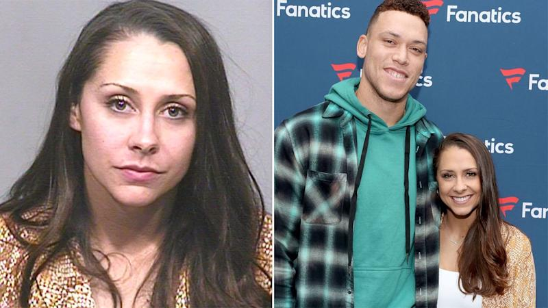 Samantha Bracksieck, the girlfriend of Yankees star Aaron Judge, was charged with extreme DUI. Pic: Scottsdale Police/Getty