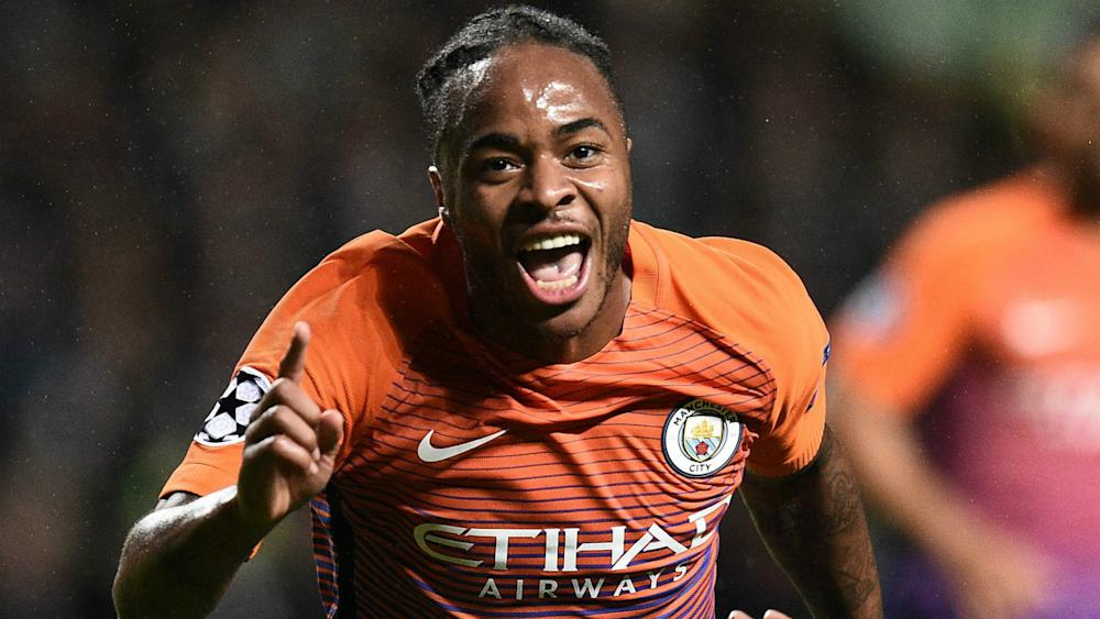 Raheem Sterling Manchester City Champions League