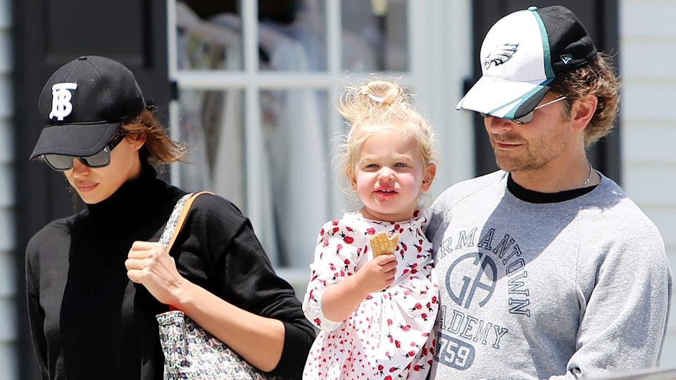 Mandatory Credit: Photo by Broadimage/Shutterstock (10248788j)Irina Shayk, Lea De Seine Shayk Cooper and Bradley CooperBradley Cooper, Irina Shayk and daughter out and about, Los Angeles, USA - 25 May 2019.