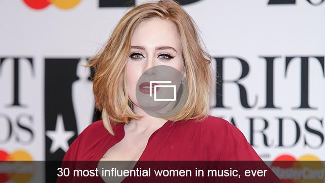 influential women in music slideshow
