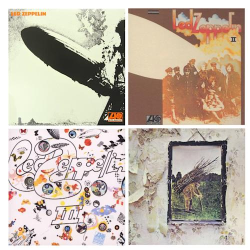 Led Zeppelin 1-4 LP Set