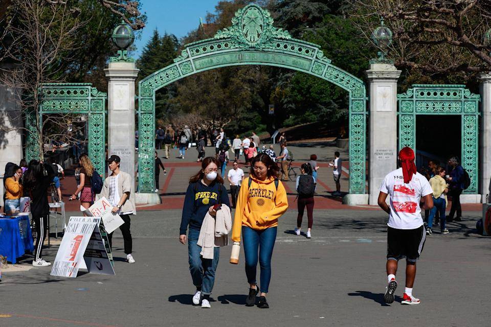 UC Berkeley is one of the most highly selective schools in California's public university system.  (Photo: San Francisco Chronicle/Hearst Newspapers via Getty Images via Getty Images)
