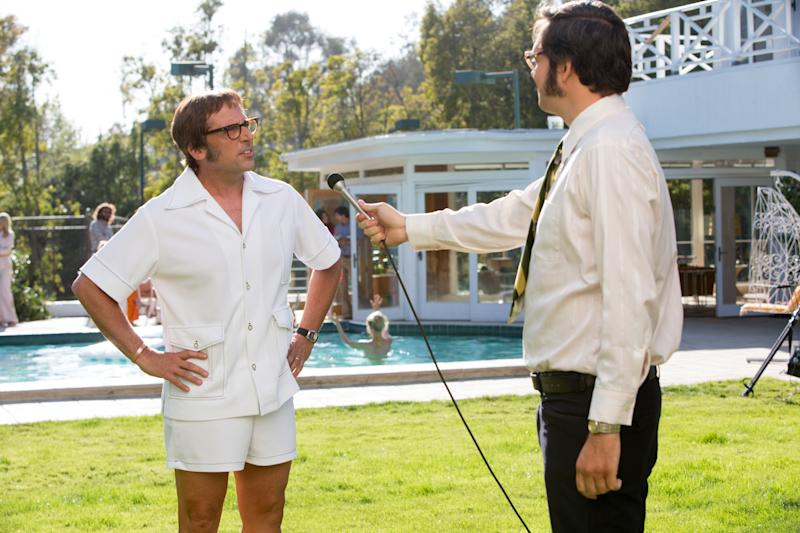 "Steve Carell could have been a twofold contender, were ""Last Flag Flying"" not DOA. His unremarkable stint as tennis champ Bobby Riggs will keep him alive, though. Fox Searchlight sent ""Battle of the Sexes"" screeners to awards groups this week, re-upping a pleasant movie that should have found more commercial success. Without any ""Foxcatcher""-style prosthetics, a Golden Globe nomination is Carell's surest bet.<br /><br /><strong>UPDATE:</strong> Carell will instead compete for Best Supporting Actor."