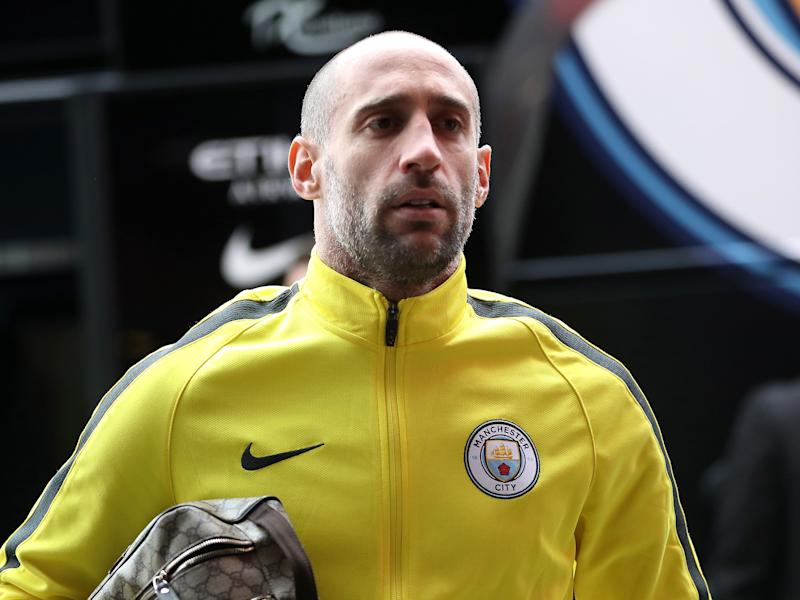 Pablo Zabaleta described Pep Guardiola's pre-match preparation as 'fantastic': Getty