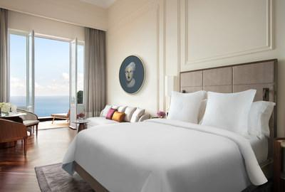 Joining two sister properties in Milan and Florence, the intimate setting offers 111 guest rooms and suites, some with private terraces and plunge pools