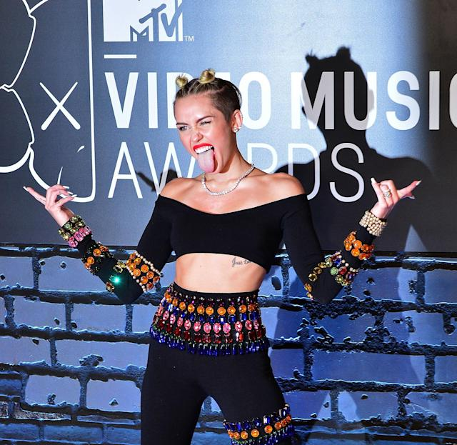 "<p>No. Miley Cyrus hosted two years ago. Sean ""Diddy"" Combs hosted in 2005. Perry and Cyrus are the only past winners of Video of the Year to host. They won for ""Firework"" and ""Wrecking Ball,"" respectively. (Photo: Getty Images) </p>"