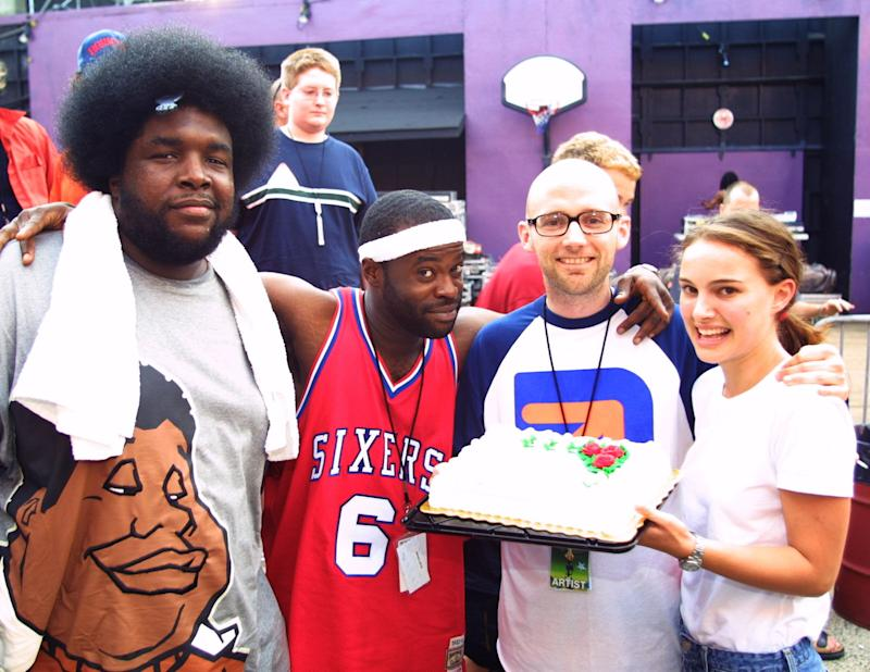 The Roots, Moby, and Natalie Portman (Photo by Theo Wargo/WireImage)