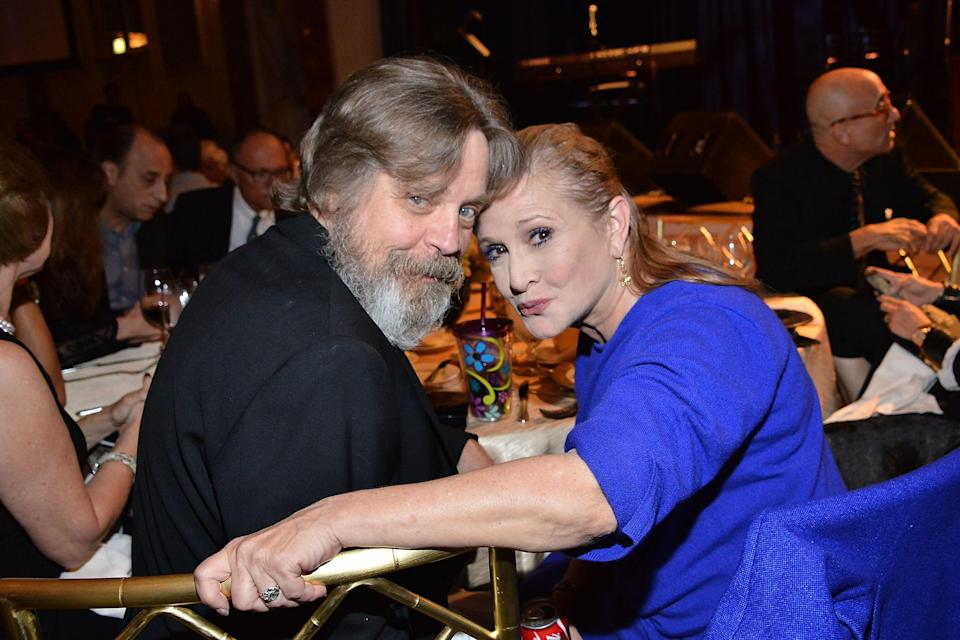Mark Hamill remembers Carrie Fisher on her 64th birthday  (Getty)