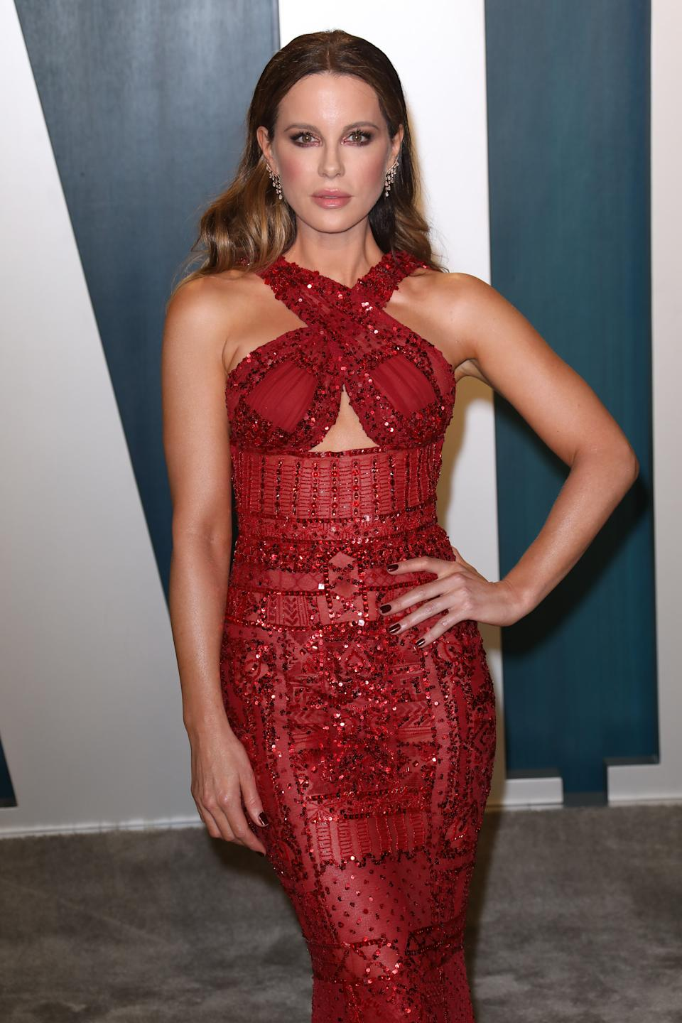 """Beckinsale went forward with her experience of being """"bullied"""" by Harvey Weinstein. (Photo by Toni Anne Barson/WireImage)"""