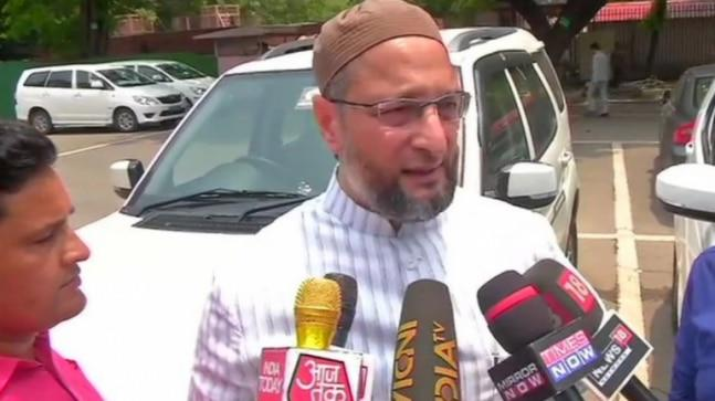 Asaduddin Owaisi has hit out at BJP MP Sadhvi Pragya over her comment that she was not elected an MP to clean toilets.