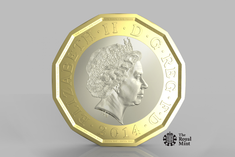 Harder to fake: The new £1 coin to be in circulation in 2017