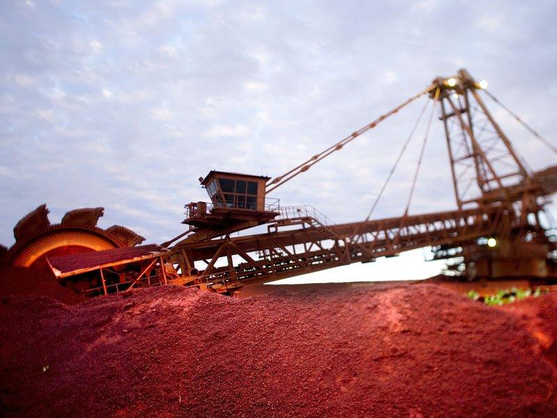 BHP hit by negative outlook