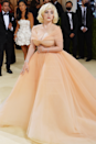 """<p>Billie practically broke the internet when she stepped out at the <a href=""""https://www.cosmopolitan.com/uk/fashion/celebrity/a37582077/billie-eilish-met-gala-dress/"""" rel=""""nofollow noopener"""" target=""""_blank"""" data-ylk=""""slk:2021 Met Gala"""" class=""""link rapid-noclick-resp"""">2021 Met Gala</a> wearing this princess-worthy <a href=""""https://www.cosmopolitan.com/uk/fashion/celebrity/a37582077/billie-eilish-met-gala-dress/"""" rel=""""nofollow noopener"""" target=""""_blank"""" data-ylk=""""slk:Oscar de la Renta dress"""" class=""""link rapid-noclick-resp"""">Oscar de la Renta dress</a>, inspired by none other than Marilyn Monroe. According to the artist, she agreed to wear the gown <a href=""""https://www.cosmopolitan.com/uk/fashion/a37587518/billie-eilish-met-gala-dress-oscar-de-la-renta-stop-fur/"""" rel=""""nofollow noopener"""" target=""""_blank"""" data-ylk=""""slk:one very important condition"""" class=""""link rapid-noclick-resp"""">one very important condition</a>: that the fashion house stop using fur. Just when you thought you couldn't love Billie any more, she does this. """"This is the first thing I've ever done in this realm before. I'm shivering and shaking,"""" Billie (a vegan and animal rights activist) told E! News on the red carpet.</p>"""