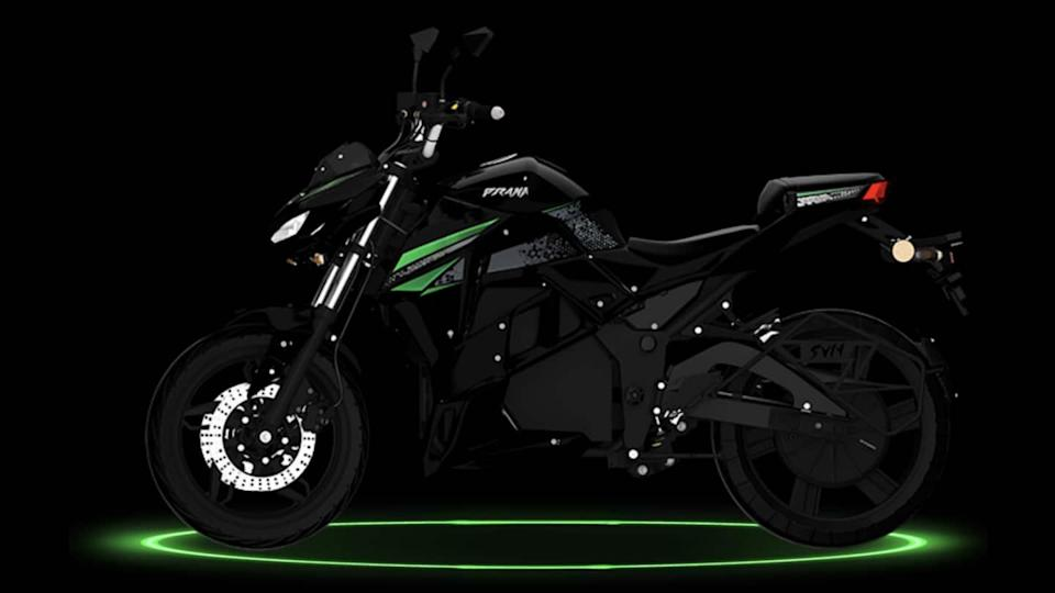 SVM Prana e-motorcycle launched in India at Rs. 2 lakh