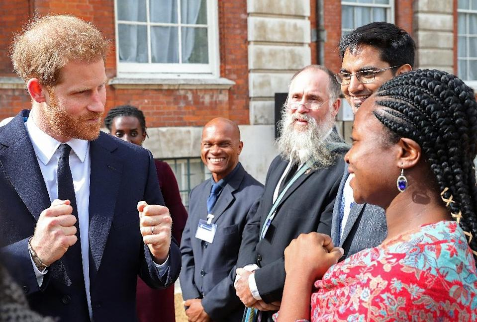 """The convicted teen called Britain's Prince Harry a """"race traitor"""". He pleaded guilty to encouraging terrorism and possessing neo-Nazi and Al-Qaeda manuals (AFP Photo/Chris Jackson)"""