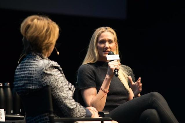 "Olympian Kerri Walsh Jennings is aiming to win a gold medal in beach volleyball at the Tokyo Olympics in 2020 when she'll be 41 because, she said on Thursday, ""I don't believe in barriers."" Speaking at TheWrap's Power Women breakfast in San Francisco, the three-time gold medalist said: ""You have to earn your way there. I don't believe in barriers. I believe my heart will tell me [when to stop]. I pray that my body doesn't give out — my body feels amazing. I've had five shoulder surgeries, I've been through a lot, my training is smarter and my diet is smarter in my recovery processes, and I have amazing trainers. I honestly pray for clarity that it's clear when I'm done, my heart will tell me that, 'Kerri, you're done.'"" ""I've lived this part of my life and I'm ready to transition into something else and grow into something else,"" she continued. ""My mission in the next four years is just grow in my sport — it's such a beautiful, empowering sport for women, and the drive in this country, the opportunities this country survive on are huge and I want to take it to the next level … I want to beat the world."""
