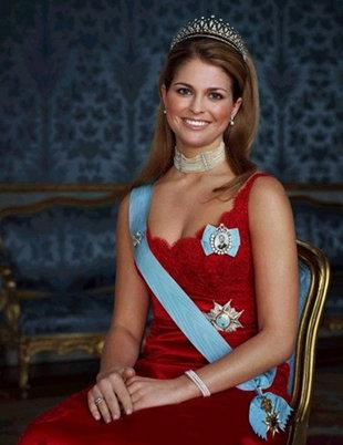 <b>3. Princess Madeleine</b><br><br><b>Of:</b> Sweden<br><br><b>Age</b>: 29<br><br>The gorgeous looking Princess of Sweden is fourth in the line of succession to the throne of Sweden, behind her two siblings Princess Victoria and Prince Carl Philip and her niece Princess Estelle. Princess Madeleine had been engaged to her lawyer boyfriend of 7 years, Jonas Bergström in 2009 but was called off the year following reports that Bergström had cheated on her with a college student. The Princess has since moved to New York City and is in a relationship with Chris O'Neil, a financier by profession.