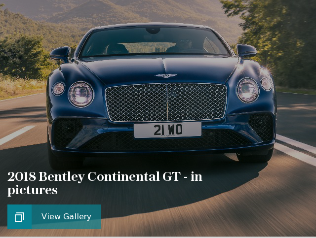 2018 Bentley Continental GT - in pictures