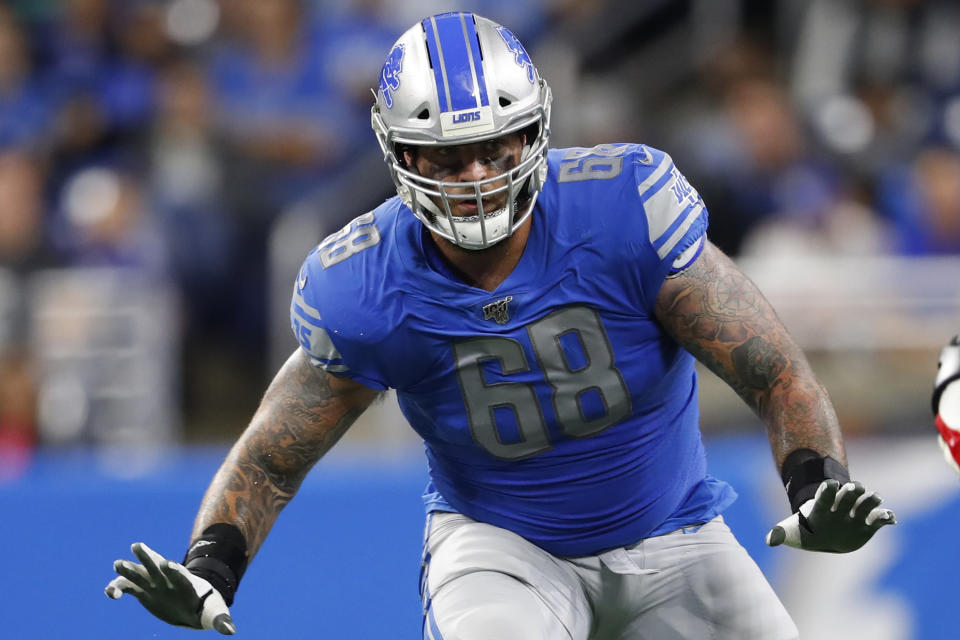 Former Ohio State OT Taylor Decker signs massive contract with Lions