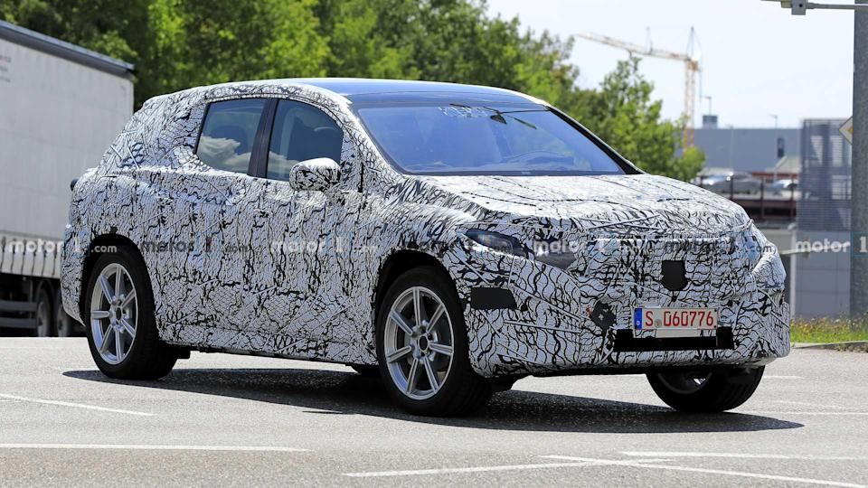 """<p>Wow, Mercedes is already working on a new generation of a vehicle that's practically brand new.</p> <h3><a href=""""https://www.motor1.com/news/435238/new-mercedes-eqc-spied/"""" rel=""""nofollow noopener"""" target=""""_blank"""" data-ylk=""""slk:Mercedes EQC Spied Already Getting Ready For New Generation"""" class=""""link rapid-noclick-resp"""">Mercedes EQC Spied Already Getting Ready For New Generation</a></h3> <br><a href=""""https://www.motor1.com/news/394552/mercedes-future-ev-halved-battery-shortage/"""" rel=""""nofollow noopener"""" target=""""_blank"""" data-ylk=""""slk:Mercedes Cuts EQC EV Production Plans In Half Due To Battery Shortage"""" class=""""link rapid-noclick-resp"""">Mercedes Cuts EQC EV Production Plans In Half Due To Battery Shortage</a><br><a href=""""https://www.motor1.com/news/391508/mercedes-benz-eqc-sales-germany/"""" rel=""""nofollow noopener"""" target=""""_blank"""" data-ylk=""""slk:Mercedes-Benz EQC Sales In Germany Have Yet To Pass 100 Units"""" class=""""link rapid-noclick-resp"""">Mercedes-Benz EQC Sales In Germany Have Yet To Pass 100 Units</a><br>"""