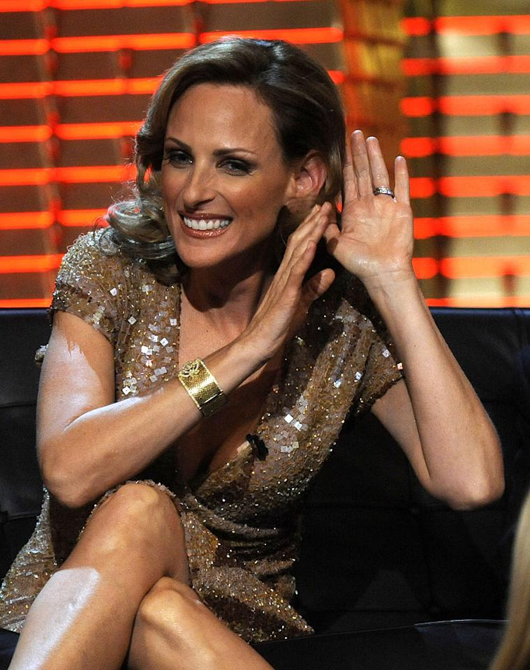 Marlee Matlin at the Comedy Central Roast Of Donald Trump.