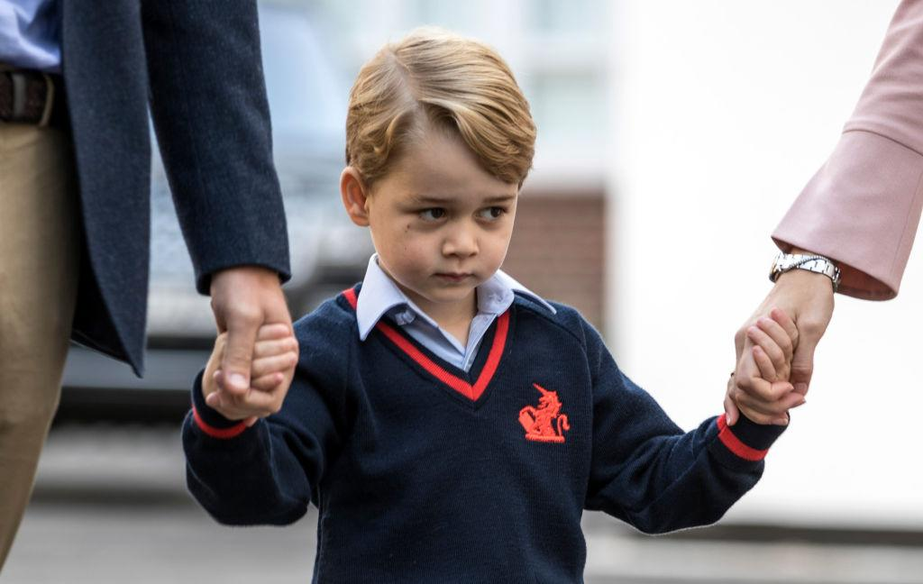 "<p>The world watched, captivated, as Prince George arrived for his first day of school last Tuesday at Thomas's Battersea. The four-year-old Prince will likely make a ton of friends, but, at least according to one royal watcher, he won't be encouraged to make a <em>best friend.</em> Speaking on a recent episode of the U.K. show ""Loose Women,"" panelist Jane Moore suggested that Thomas's Battersea's policy discourages students from having a single best friend. <br /><br />""You were saying at the meeting that they don't encourage children to have best friends at this school, do they?"" one of the panelists questioned. <br /><br />""No, absolutely not,"" Moore responded. ""There's a policy that if your child is having a party — unless every child is invited in the class you don't give out the invites…""<br /><br />A good thing, concluded the panel to audience applause, as it doesn't make students feel excluded. <br /><em> (Photo: Getty)</em> </p>"