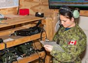 """Canada opened decided to admit women to combat positions in 1989. In 2001, the ban on women serving aboard submarines was also lifted, allowing women to serve in all occupational positions. Women, however, constitute only 2.4 per cent of the combat units, while 15 per cent of Canadian military forces comprise of women. In 2006, Capt. Nichola Goddard became the first Canadian woman to be killed in combat when she was hit by shrapnel from a rocket-propelled grenade. <em><strong>Image credit: </strong></em><a href=""""https://twitter.com/RCAF_ARC/status/1227316389473669123/photo/2"""" class=""""link rapid-noclick-resp"""" rel=""""nofollow noopener"""" target=""""_blank"""" data-ylk=""""slk:Twitter/Royal Canadian Airforce"""">Twitter/Royal Canadian Airforce</a>"""