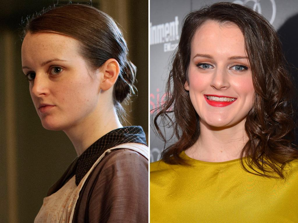 <p>Kitchen maid Daisy rarely falls in love with the right guy, but <strong>Sophie McShera</strong> might need to be fending off the suitors after stepping out looking like this.</p>