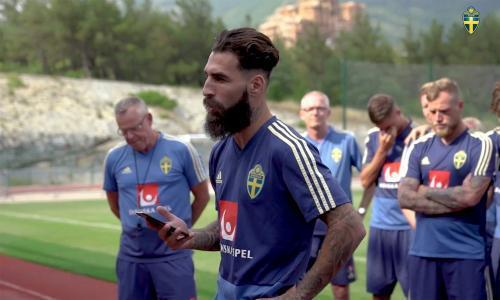 Sweden squad rally behind midfielder Jimmy Durmaz after racial abuse online