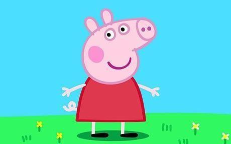 This is what Peppa Pig looks like on TV. Photo: Peppa Pig