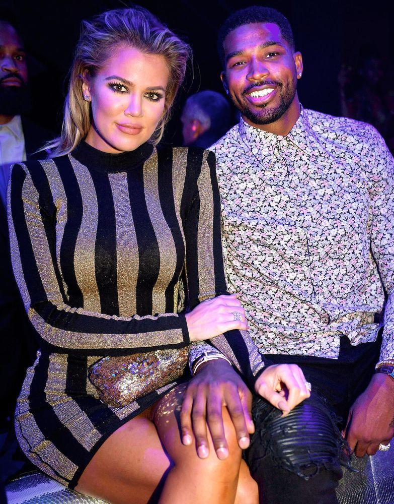 Kardashian and Tristan Thompson