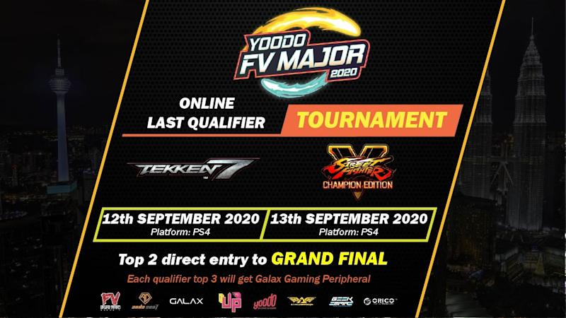 Yoodo FV Major 2020 Online For Tekken 7 & Street Fighter V (Malaysia)