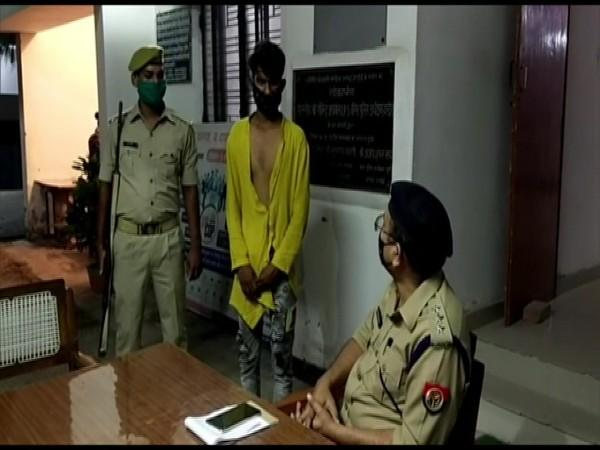 The accused at the police station (Photo/ANI)
